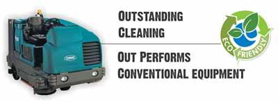 Eco Friendly Underground Garage Cleaning Equipment
